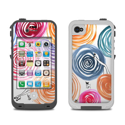Lifeproof iPhone 4 Case Skin - New Circle