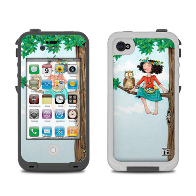 Lifeproof iPhone 4 Case Skin - Never Alone