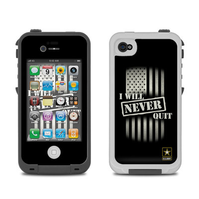 Lifeproof iPhone 4 Case Skin - Never Quit