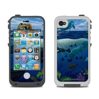 Lifeproof iPhone 4 Case Skin - Oceans For Youth