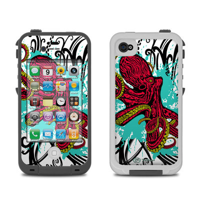 Lifeproof iPhone 4 Case Skin - Octopus