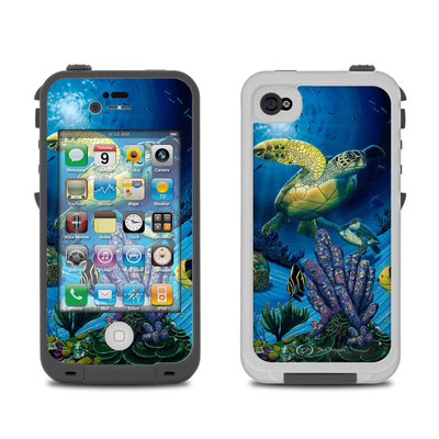Lifeproof iPhone 4 Case Skin - Ocean Fest