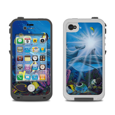 Lifeproof iPhone 4 Case Skin - Ocean Friends