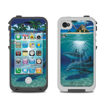 Lifeproof iPhone 4 Case Skin - Ocean Serenity