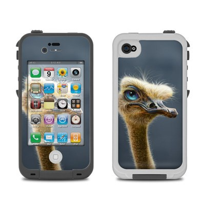 Lifeproof iPhone 4 Case Skin - Ostrich Totem
