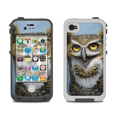 Lifeproof iPhone 4 Case Skin - Owl Totem