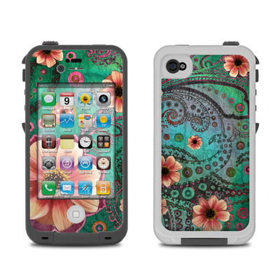 Lifeproof iPhone 4 Case Skin - Paisley Paradise