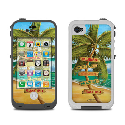Lifeproof iPhone 4 Case Skin - Palm Signs