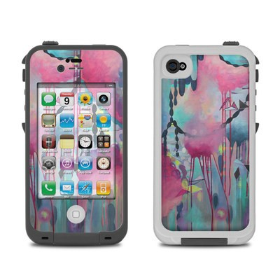 Lifeproof iPhone 4 Case Skin - Paper Chain