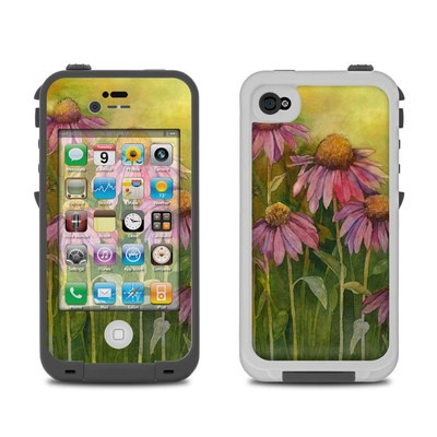 Lifeproof iPhone 4 Case Skin - Prairie Coneflower