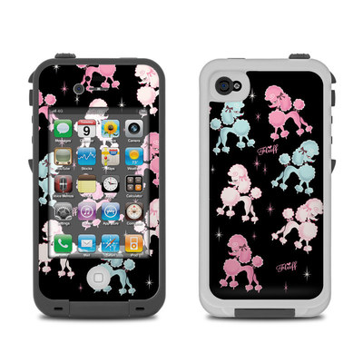 Lifeproof iPhone 4 Case Skin - Poodlerama