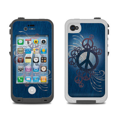 Lifeproof iPhone 4 Case Skin - Peace Out