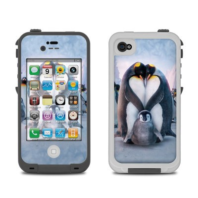 Lifeproof iPhone 4 Case Skin - Penguin Heart