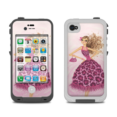 Lifeproof iPhone 4 Case Skin - Perfectly Pink