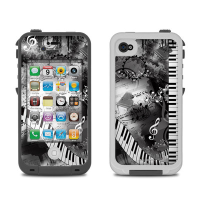 Lifeproof iPhone 4 Case Skin - Piano Pizazz
