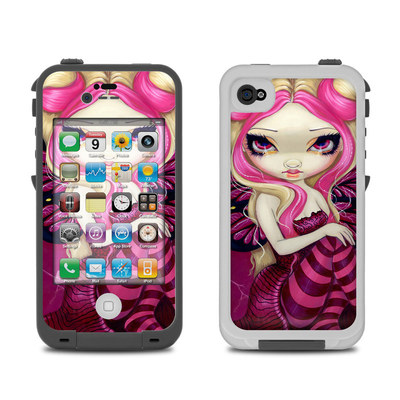 Lifeproof iPhone 4 Case Skin - Pink Lightning