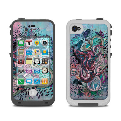 Lifeproof iPhone 4 Case Skin - Poetry in Motion