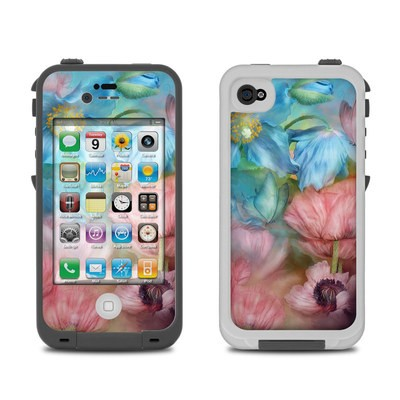 Lifeproof iPhone 4 Case Skin - Poppy Garden