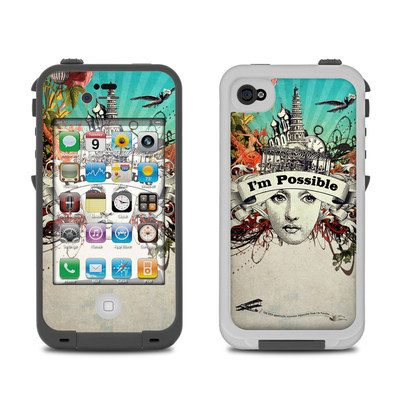 Lifeproof iPhone 4 Case Skin - Possible