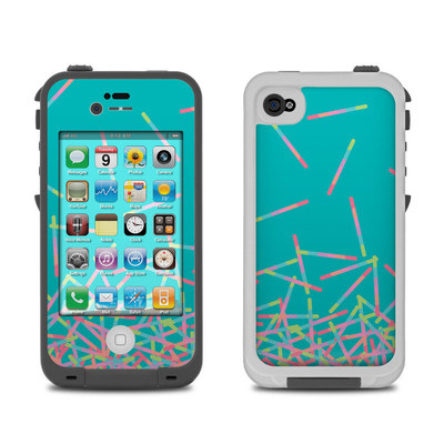Lifeproof iPhone 4 Case Skin - Pop Rocks Wands