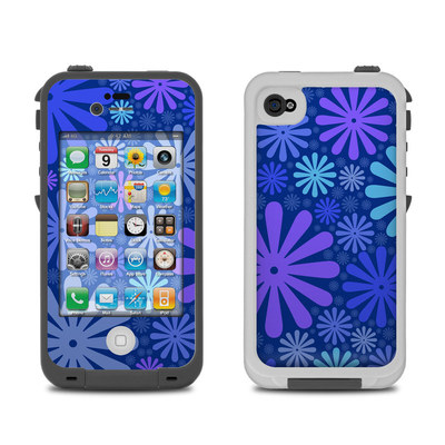 Lifeproof iPhone 4 Case Skin - Indigo Punch