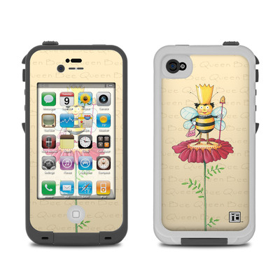Lifeproof iPhone 4 Case Skin - Queen Bee