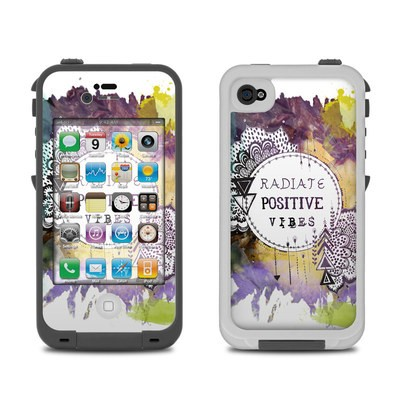 Lifeproof iPhone 4 Case Skin - Radiate