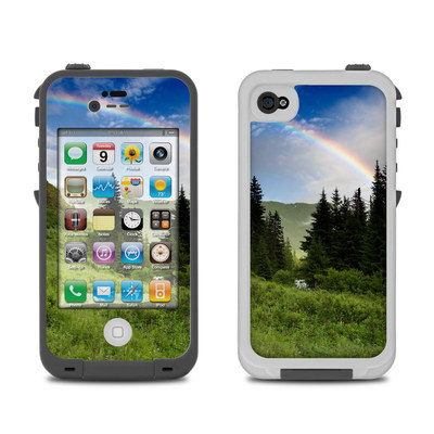 Lifeproof iPhone 4 Case Skin - Rainbow