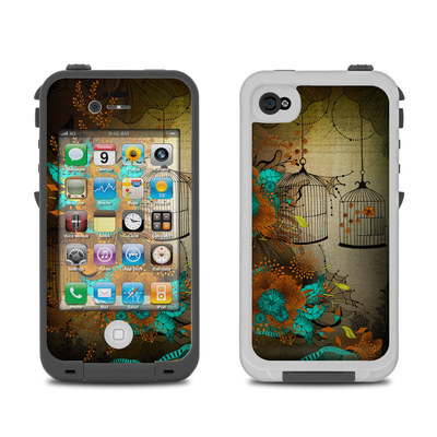Lifeproof iPhone 4 Case Skin - Rusty Lace