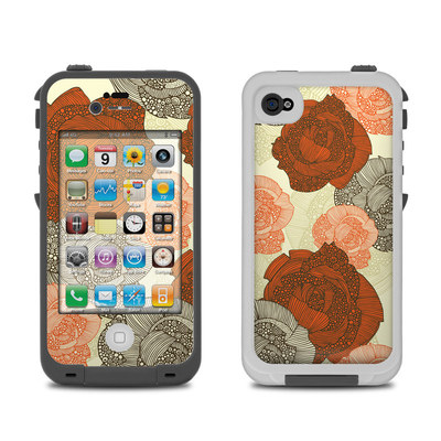 Lifeproof iPhone 4 Case Skin - Roses
