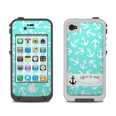Lifeproof iPhone 4 Case Skin - Refuse to Sink