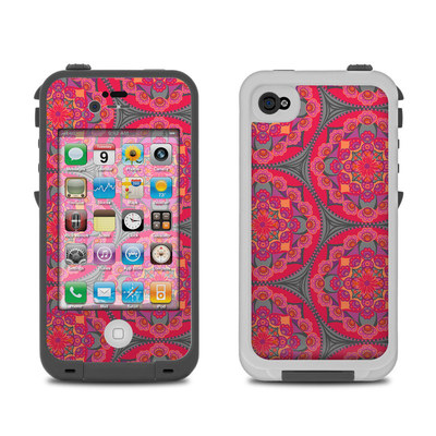 Lifeproof iPhone 4 Case Skin - Ruby Salon