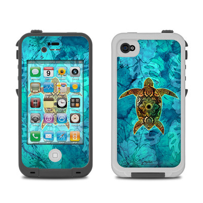 Lifeproof iPhone 4 Case Skin - Sacred Honu