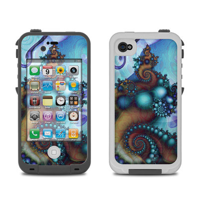 Lifeproof iPhone 4 Case Skin - Sea Jewel