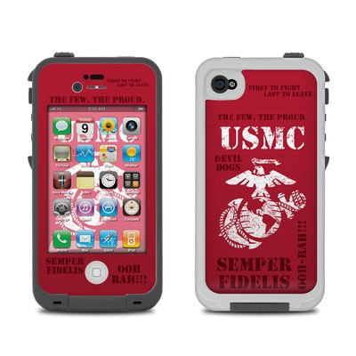 Lifeproof iPhone 4 Case Skin - Semper Fi