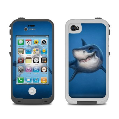Lifeproof iPhone 4 Case Skin - Shark Totem
