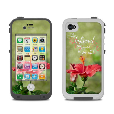 Lifeproof iPhone 4 Case Skin - She Believed