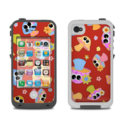 Lifeproof iPhone 4 Case Skin - Shroomies