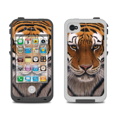 Lifeproof iPhone 4 Case Skin - Siberian Tiger