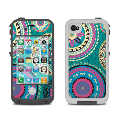 Lifeproof iPhone 4 Case Skin - Silk Road