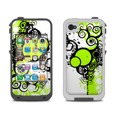 Lifeproof iPhone 4 Case Skin - Simply Green