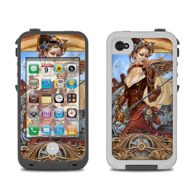 Lifeproof iPhone 4 Case Skin - Steam Jenny