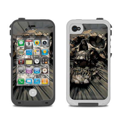 Lifeproof iPhone 4 Case Skin - Skull Wrap