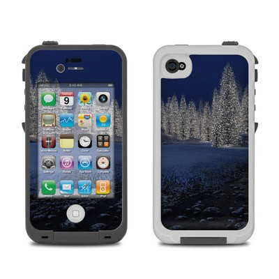 Lifeproof iPhone 4 Case Skin - Snowy Creek