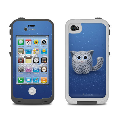 Lifeproof iPhone 4 Case Skin - Snow Leopard