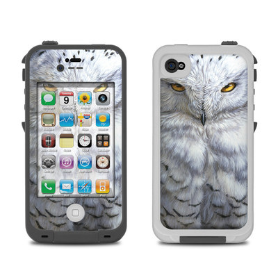 Lifeproof iPhone 4 Case Skin - Snowy Owl