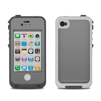 Lifeproof iPhone 4 Case Skin - Solid State Grey