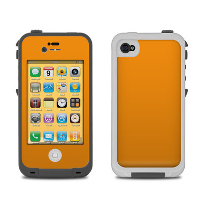Lifeproof iPhone 4 Case Skin - Solid State Orange