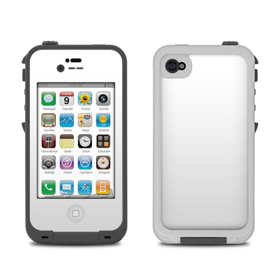Lifeproof iPhone 4 Case Skin - Solid State White
