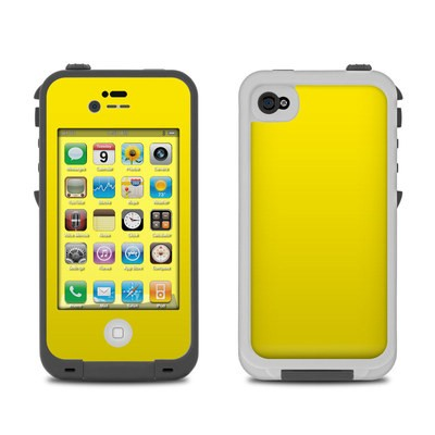 Lifeproof iPhone 4 Case Skin - Solid State Yellow